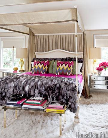 Designer Martyn Larence Bullard's Master Bedroom from House Beautiful
