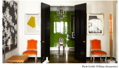 Todd Alexander Romano's Entry from Elle Decor